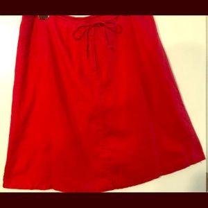 H &M linen  skirt